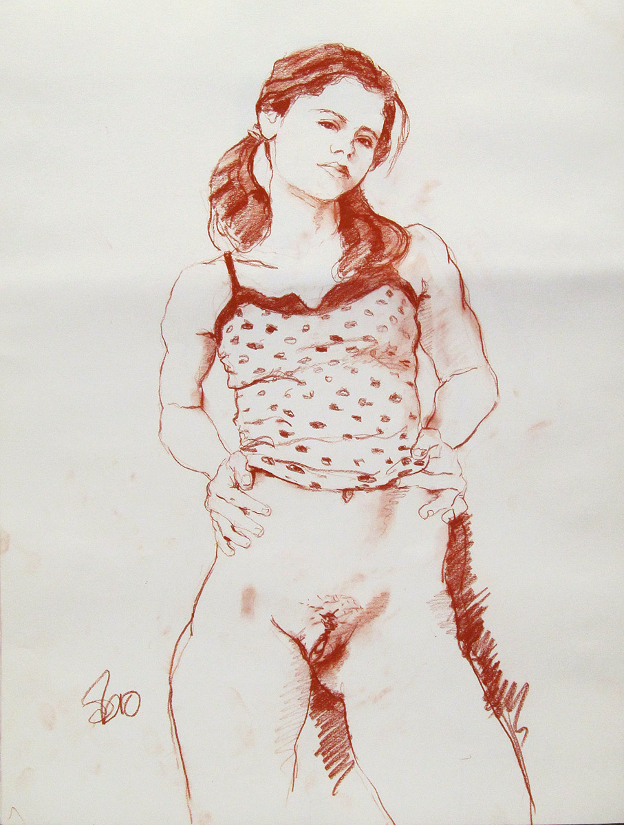 Topic simply erotic nude art drawing