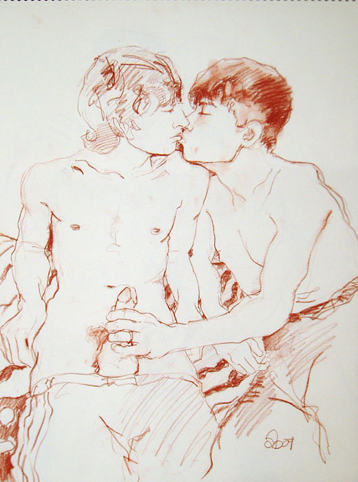 Drawing Gay Erotic