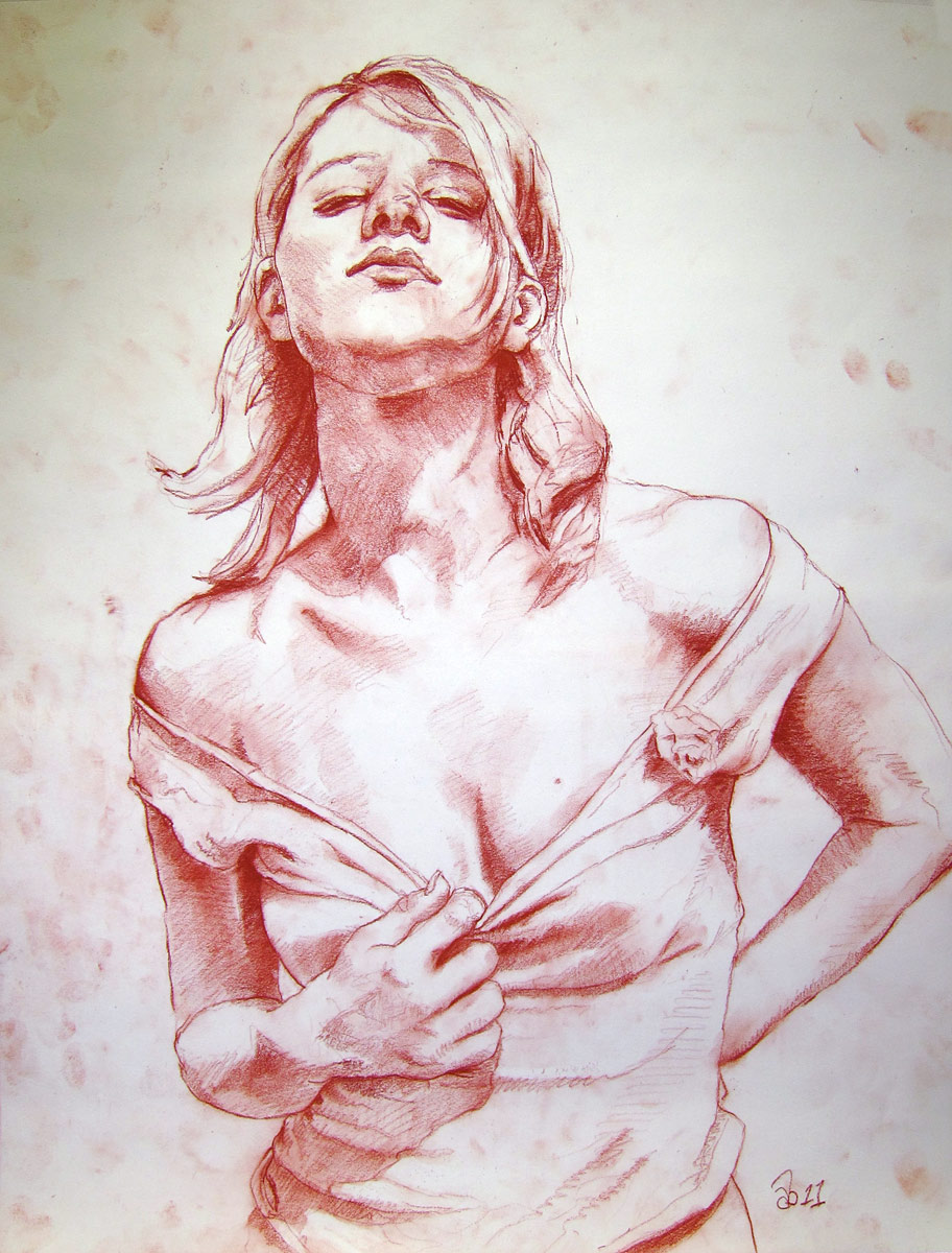 Happens... woman erotic art drawings think, you