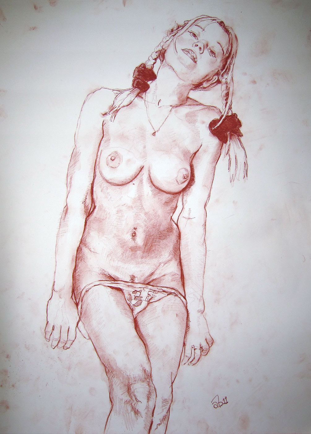 draw a naked girl